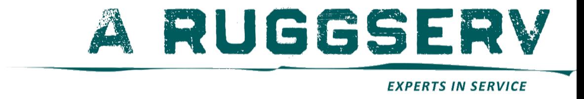A Ruggserv GmbH logo